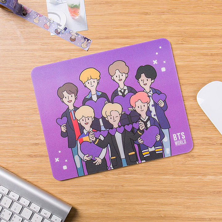 BTS WORLD Mouse Pad