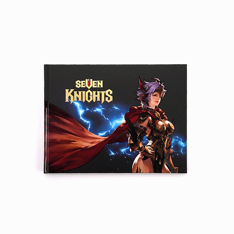 『セブンナイツ』のアートブック 「The Art of Seven Knights Vol. 2」