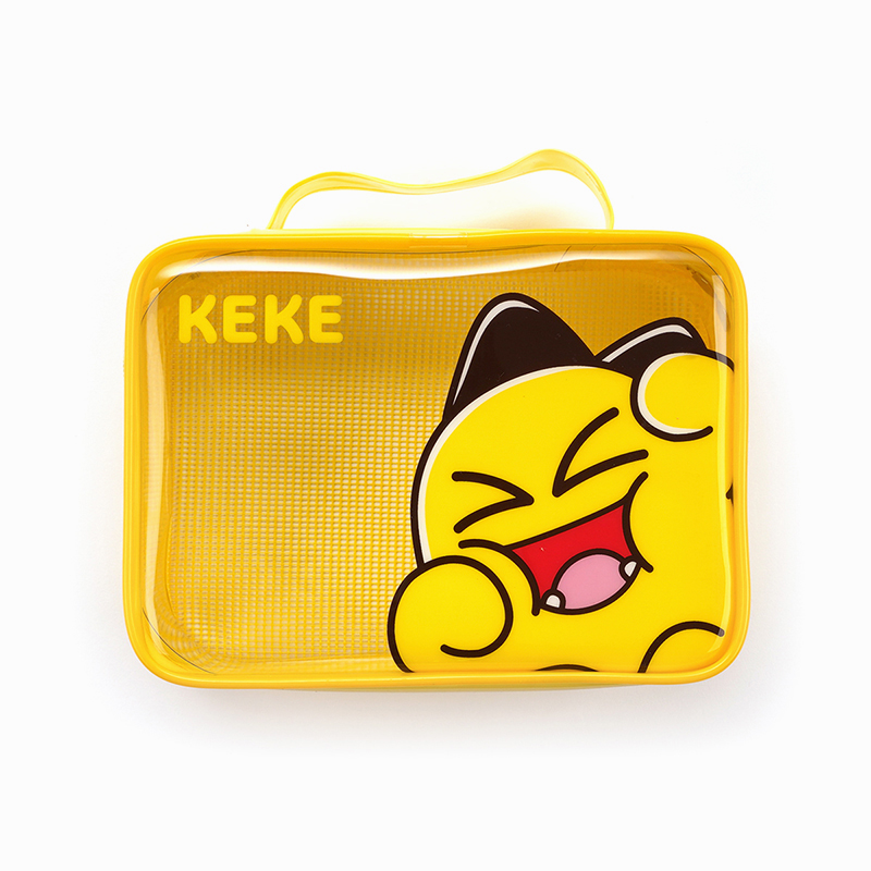 Netmarble Friends KeKe Transparent Multipurpose Pouch