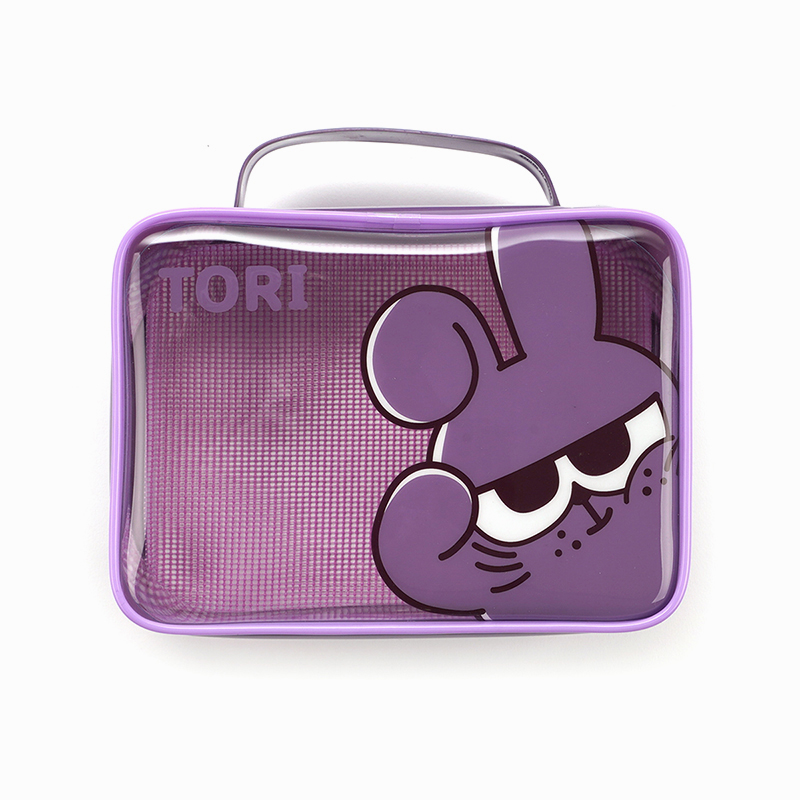 Netmarble Friends Tori Transparent Multipurpose Pouch
