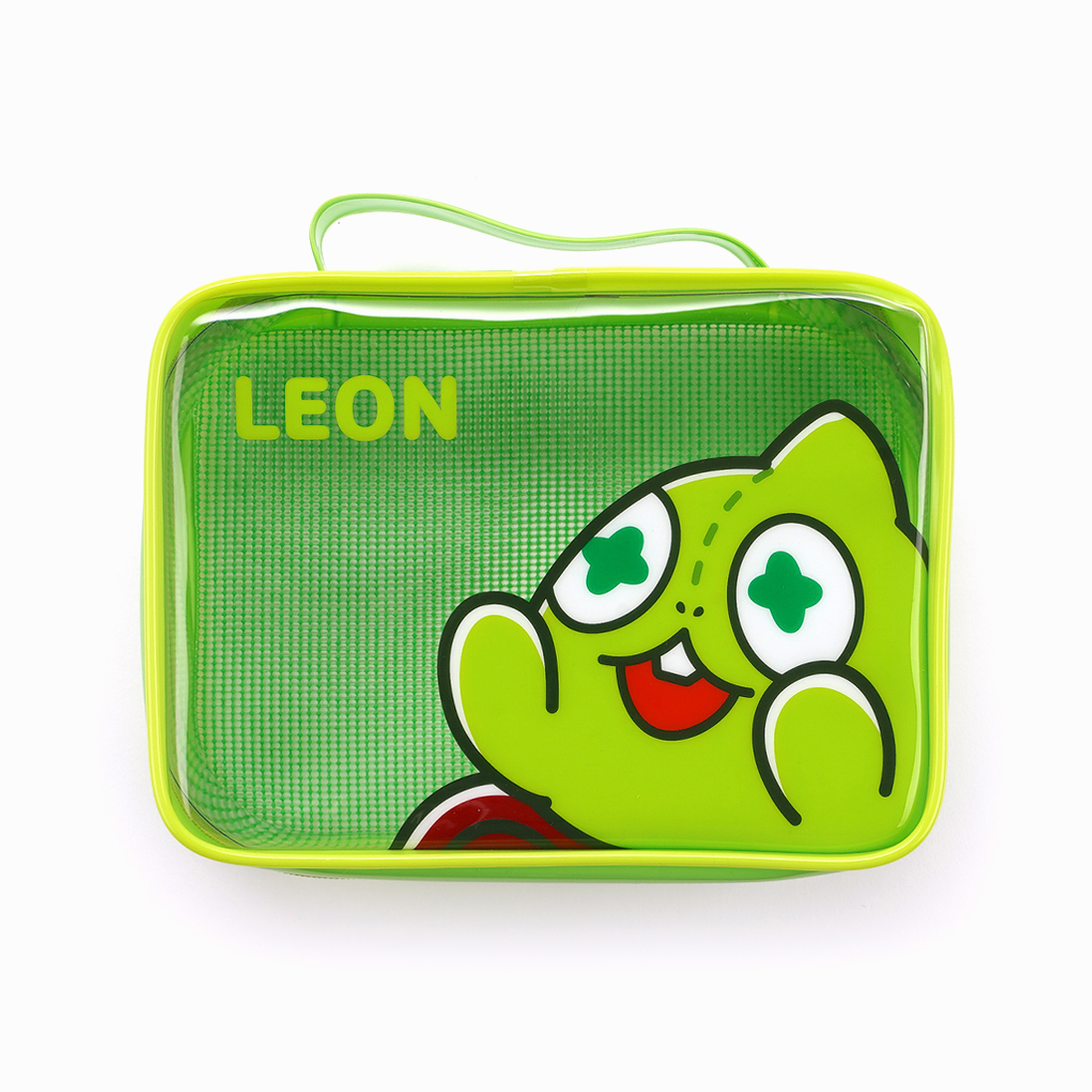 Netmarble Friends Leon Transparent Multipurpose Pouch