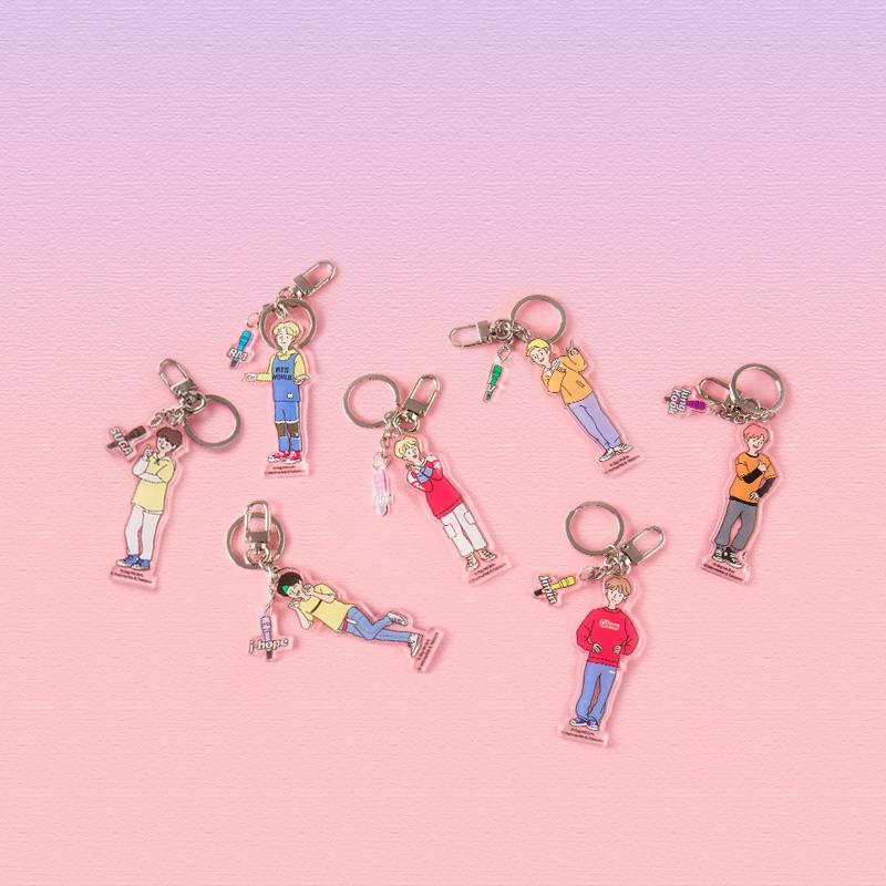 [BTS월드 공식] BTS WORLD BTS STORY 아크릴키링