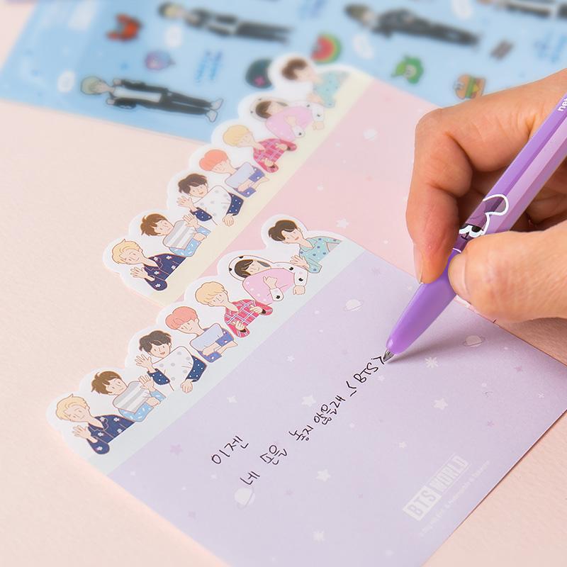 BTS WORLD メモ用紙