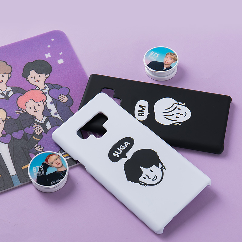 BTS WORLD SUGA Lets Do This Phone Case