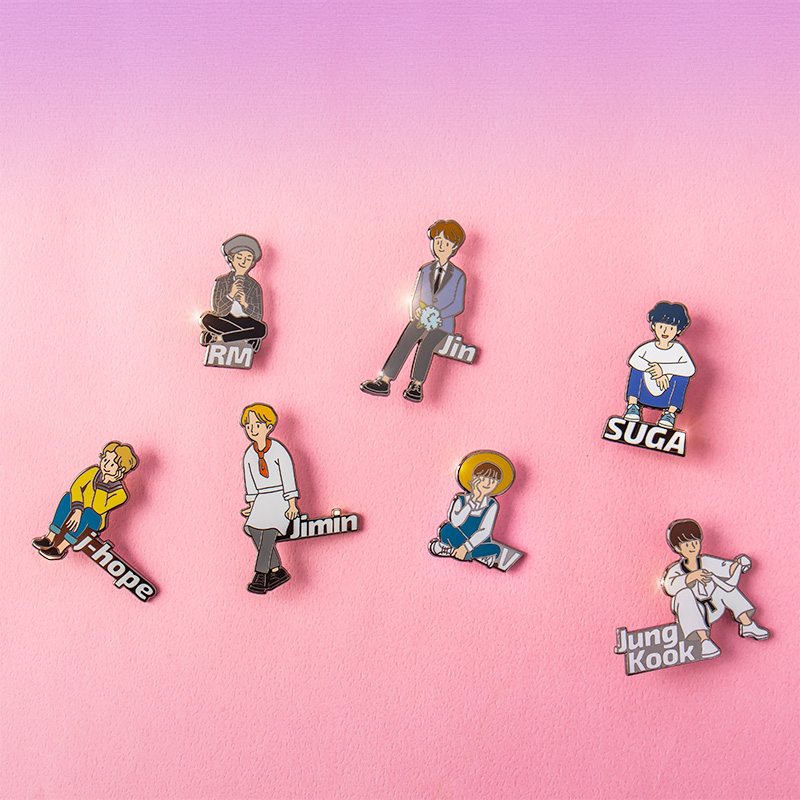BTS WORLD Pin Badge