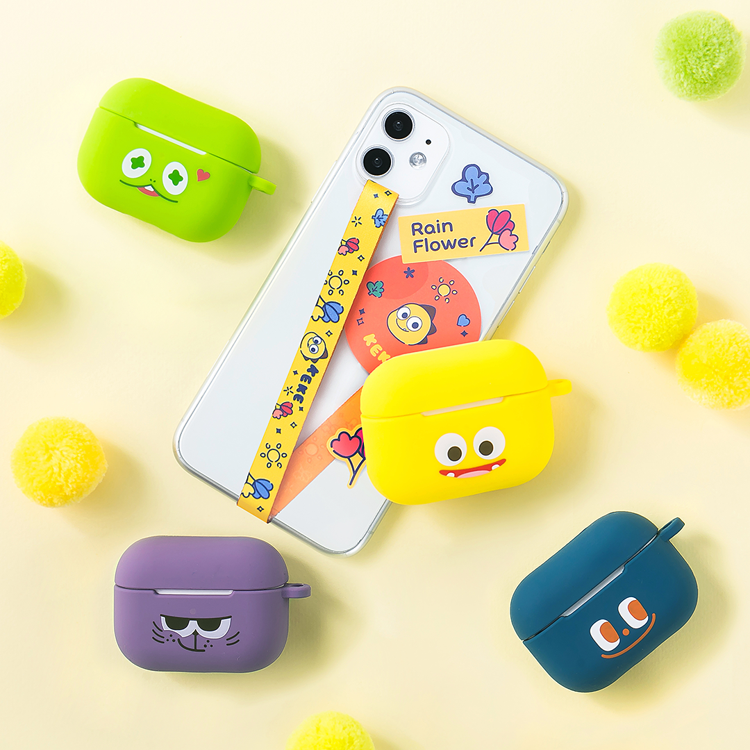 Netmarble Friends AirPods Proケース