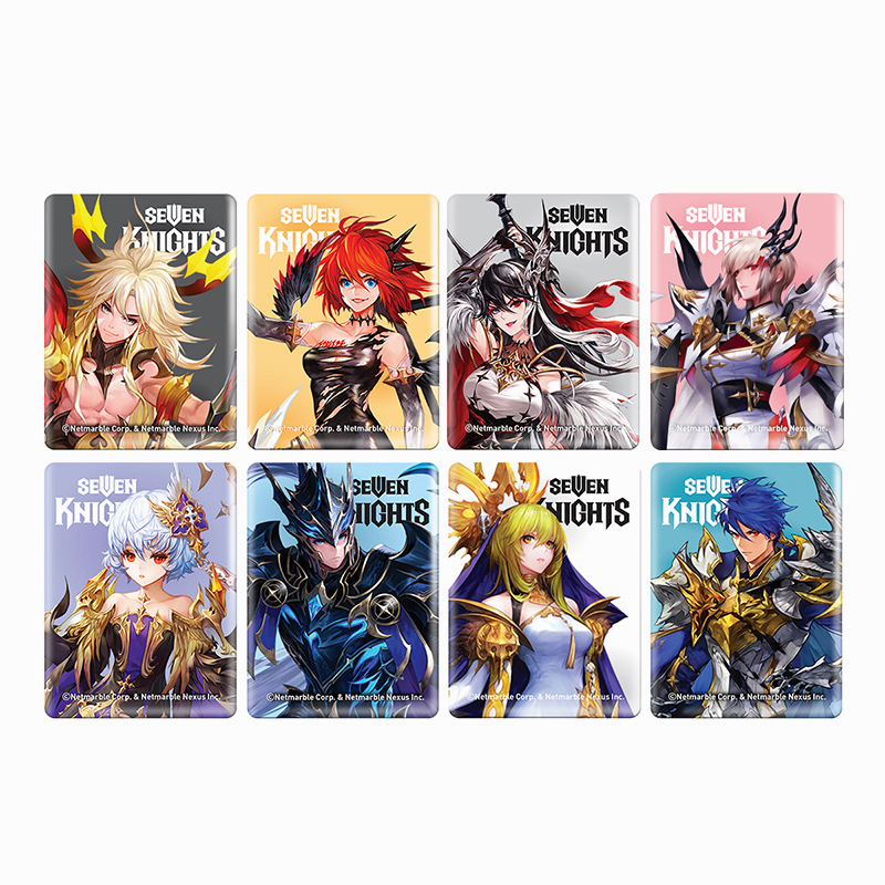 Seven Knights Magnet Set