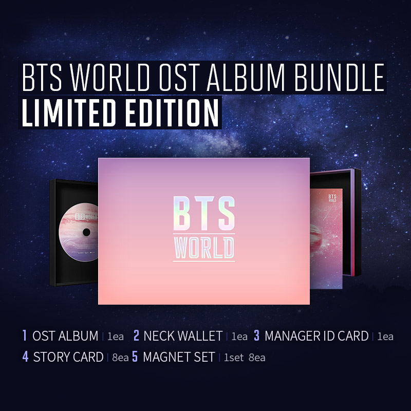 《BTS WORLD OST》专辑限量版礼包预售!