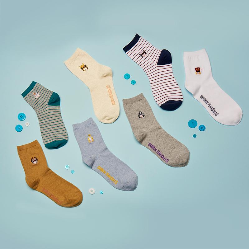 Seven Knights Rudy Crew Socks