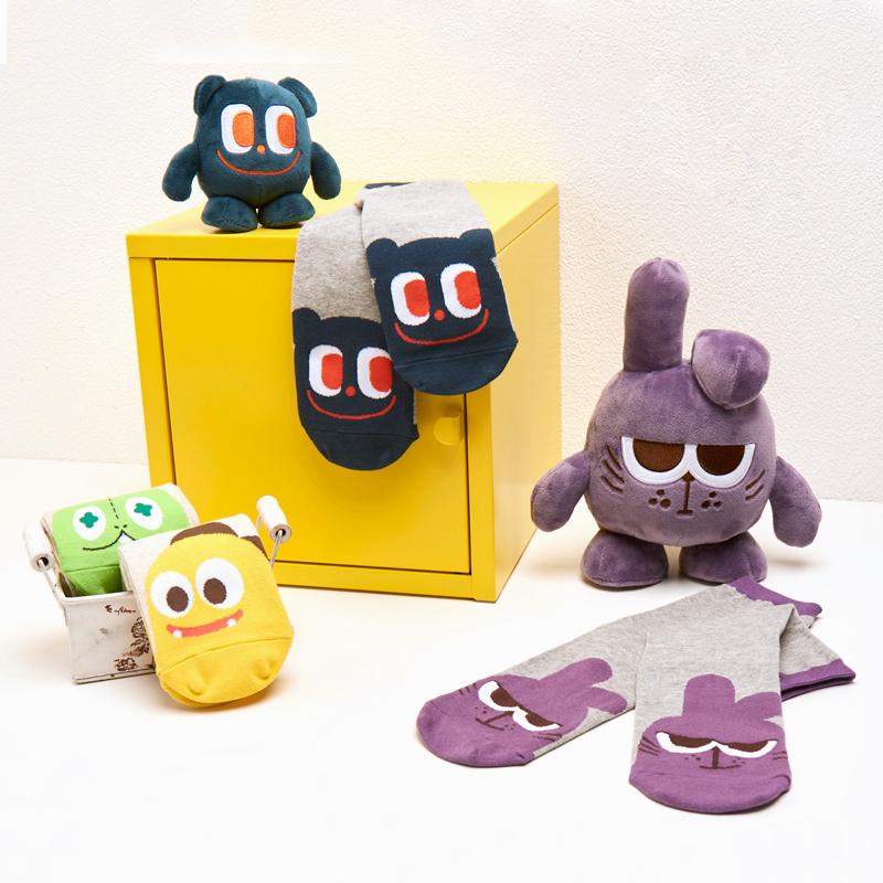Netmarble Friends Tori Mid-Calf Socks
