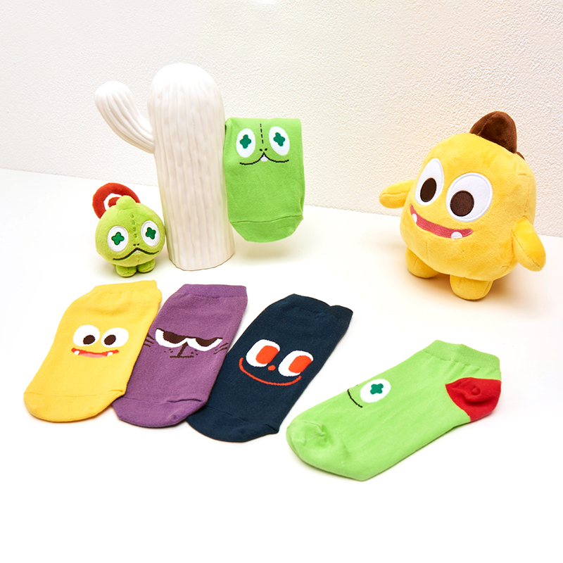 Netmarble Friends KeKe Ankle Socks