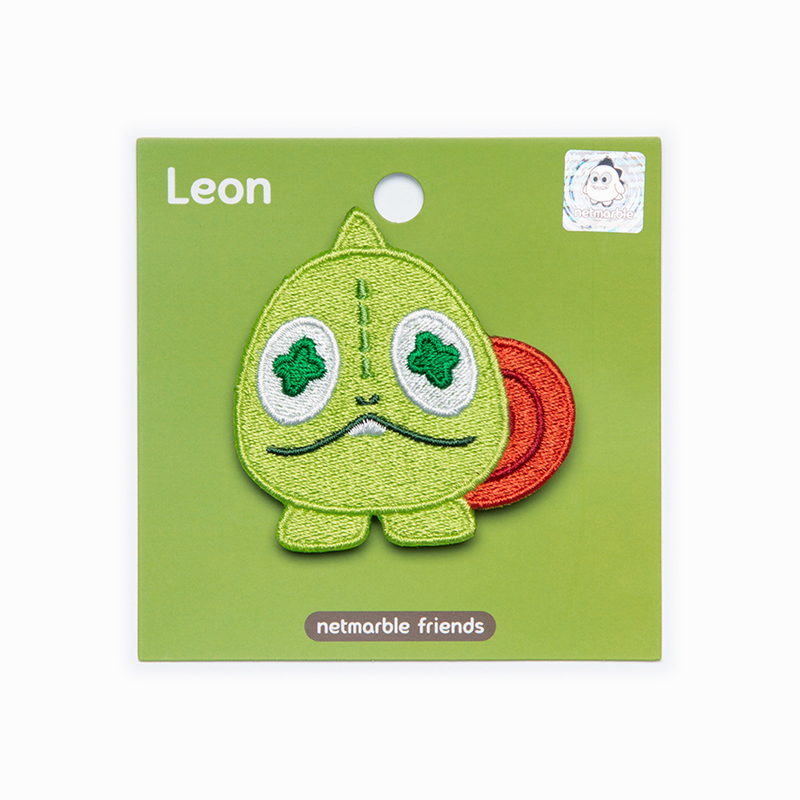 Netmarble Friends Leon Decorative Patch