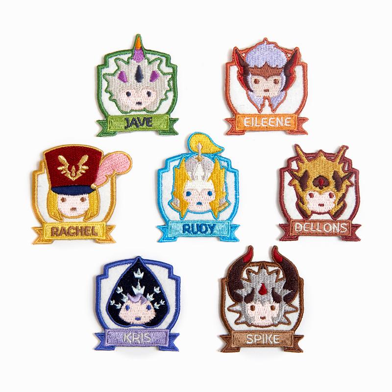 Seven Knights Spike Decorative Patch