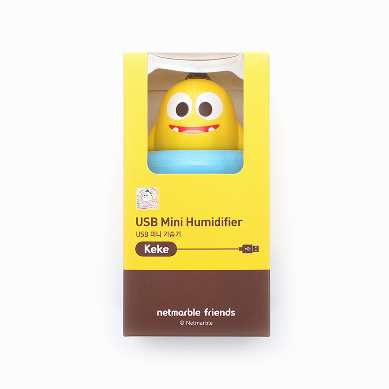 Netmarble Friends KeKe USB Mini Humidifier(Retail price 25,900 KRW)