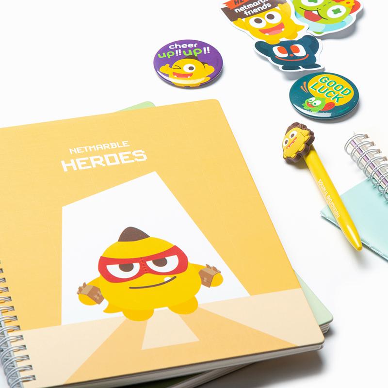Netmarble Friends Tori Spiral Notebook