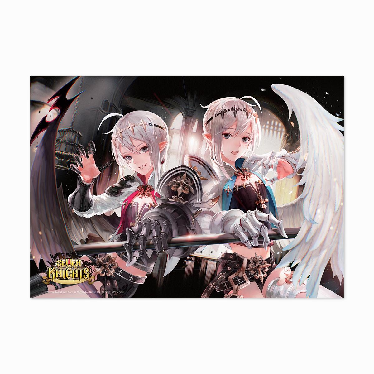Seven Knights Branze & Bransel, Kagura Poster