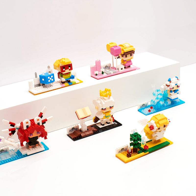 Modoo Marble Skuld Block Figurine
