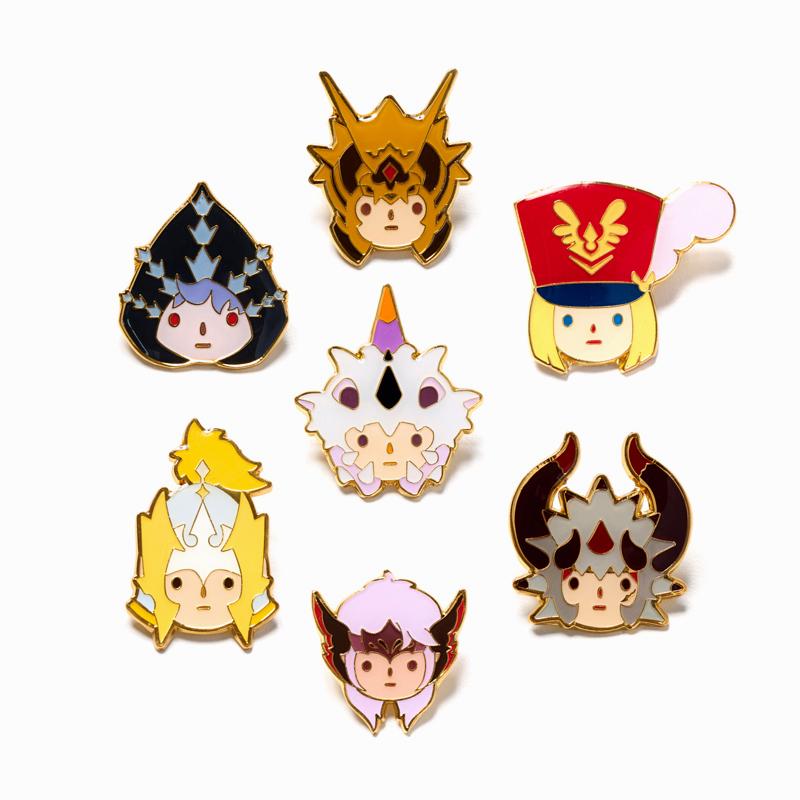 Seven Knights Rudy Pin Badge