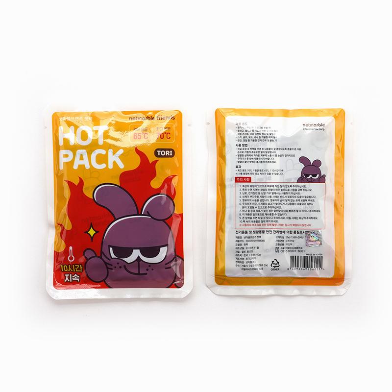 Netmarble Friends KeKe Hot Pack(Retail price 500 KRW)