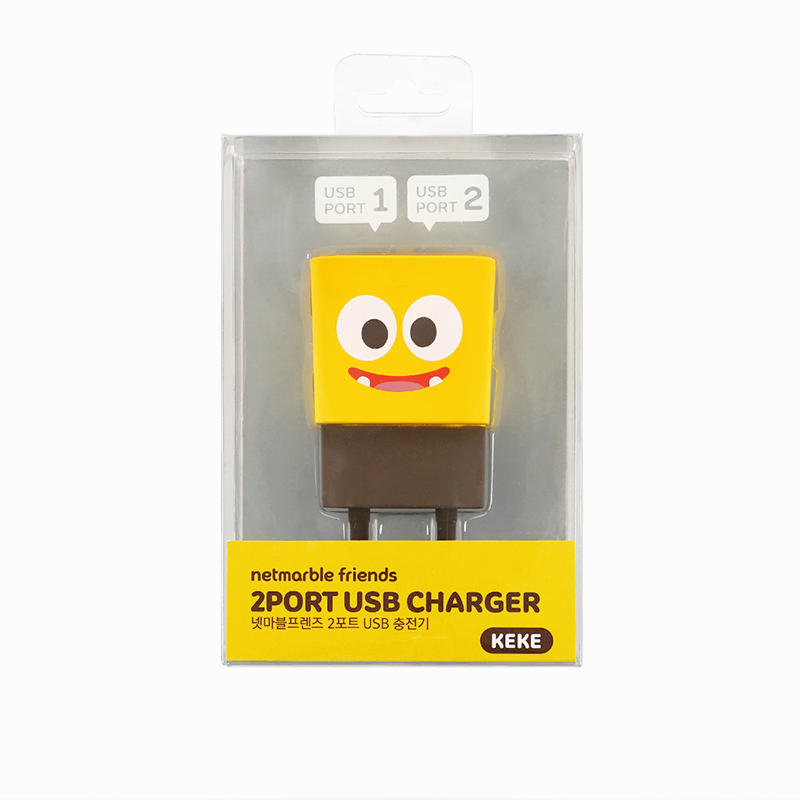Netmarble Friends KeKe 2Port USB Charger