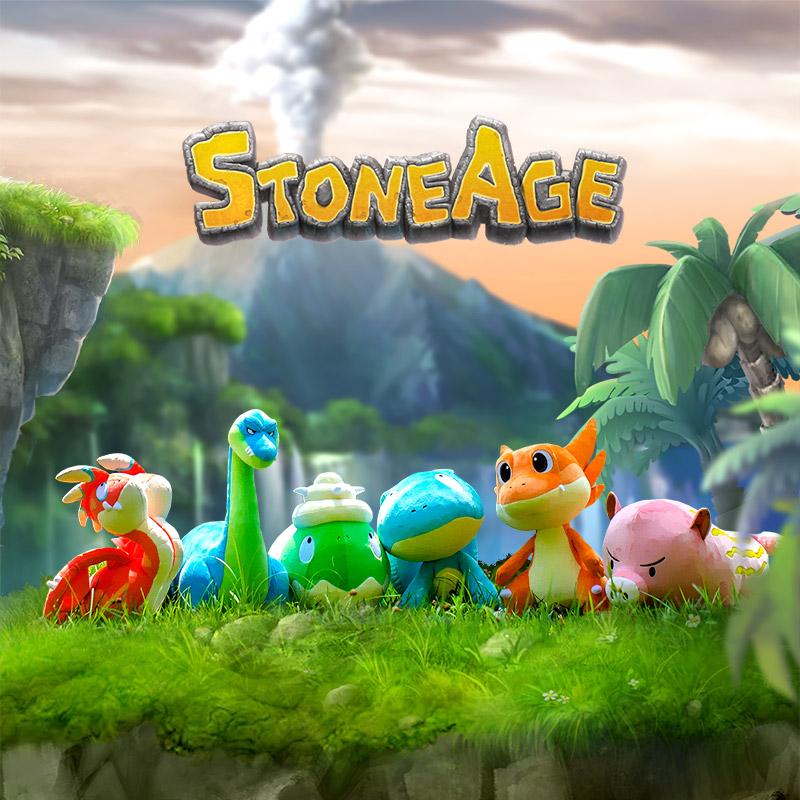 Stone Age Moga Plush Toy (L)