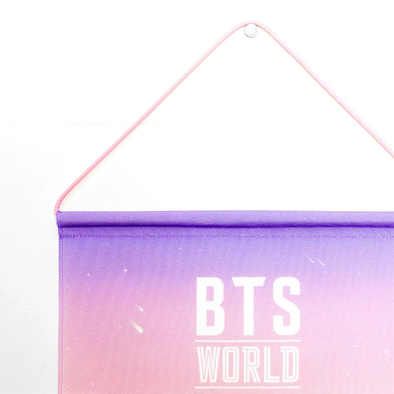BTS WORLD バッジコレクション用タペストリー