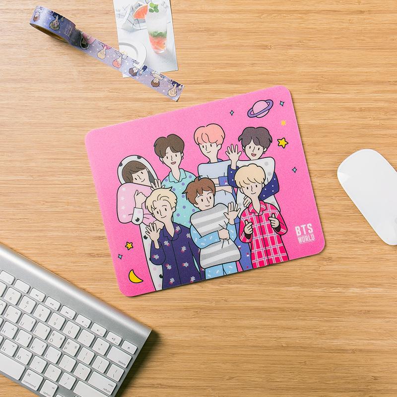 BTS WORLD Mouse Pad