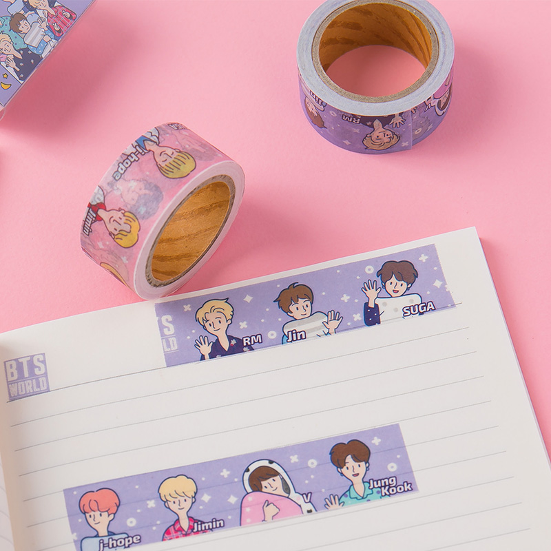 BTS WORLD Masking Tape
