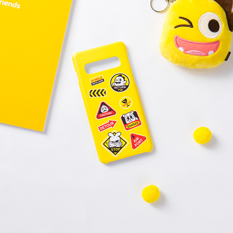 Netmarble Friends Deco Phone Case Yellow