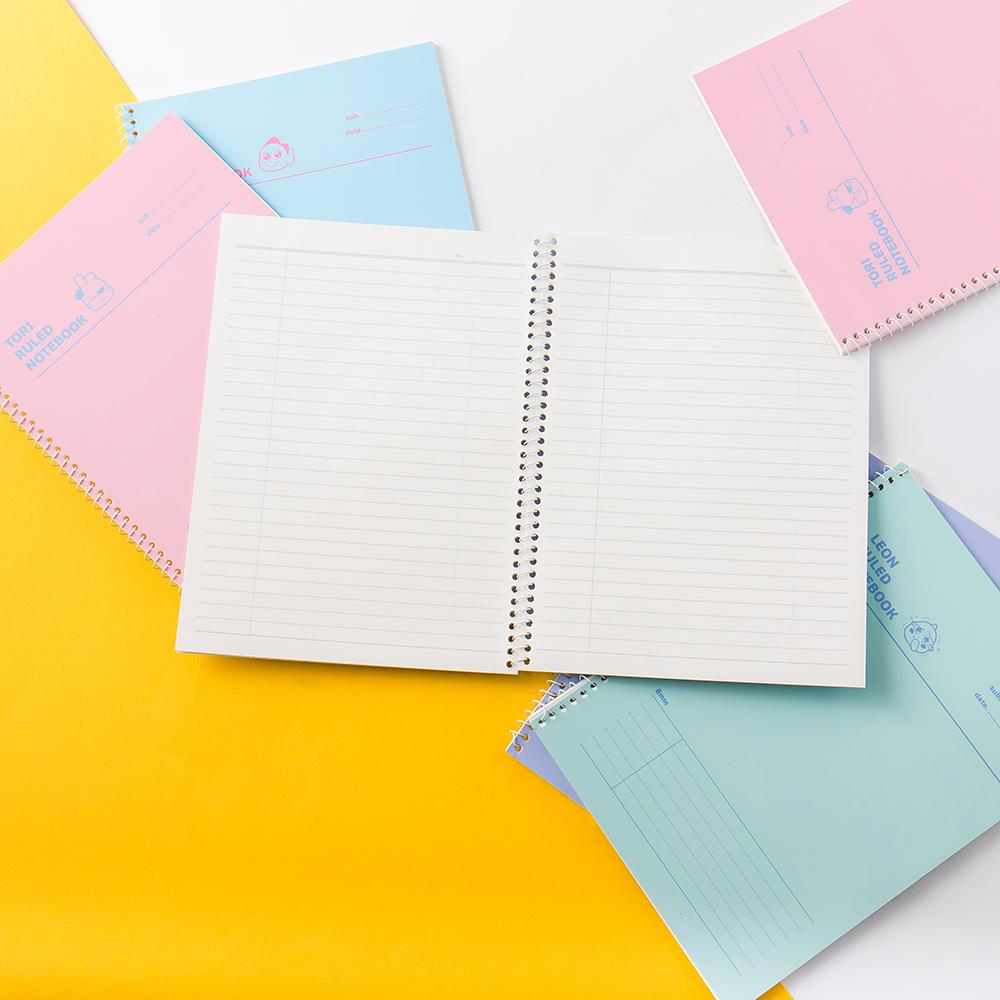 Netmarble Friends KeKe Spiral Ruled Notebook