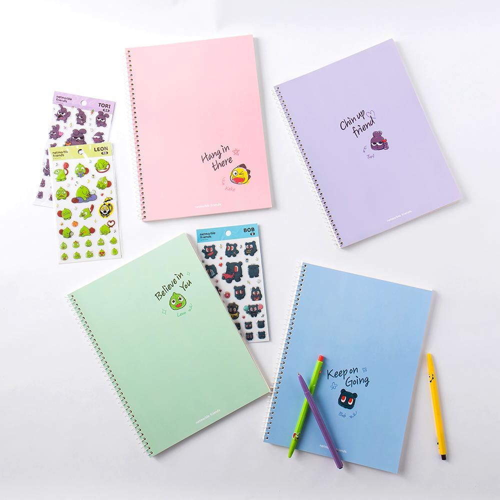 Netmarble Friends Bob Notebook