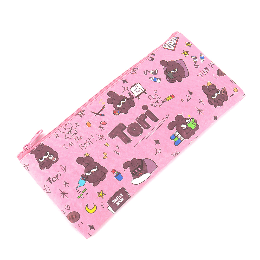 Netmarble Friends Flat Pencil Pouch