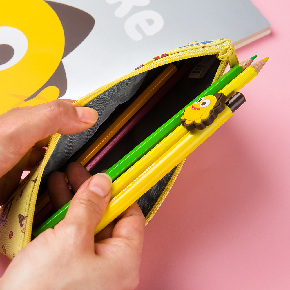 Netmarble Friends Flat Pencil Pouch