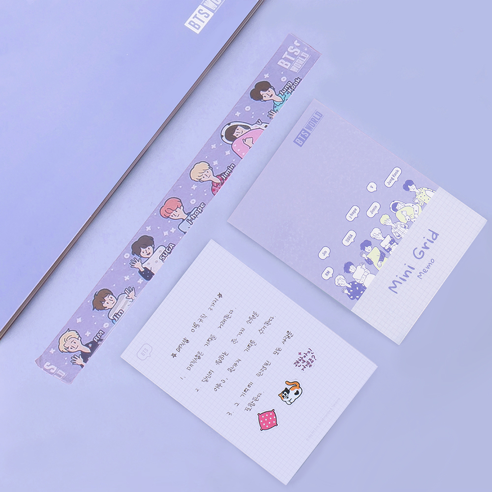 BTS World Memo Pad