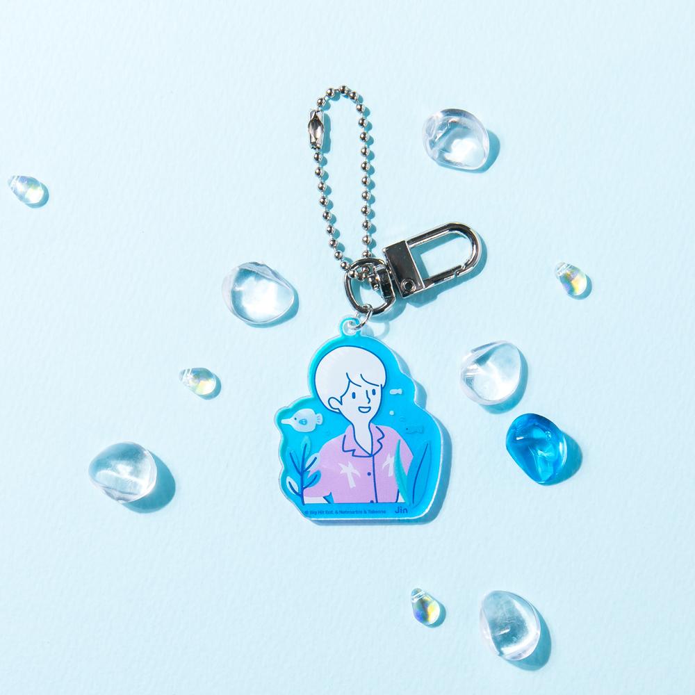 BTS WORLD Boy of Summer Acrylic Keyring