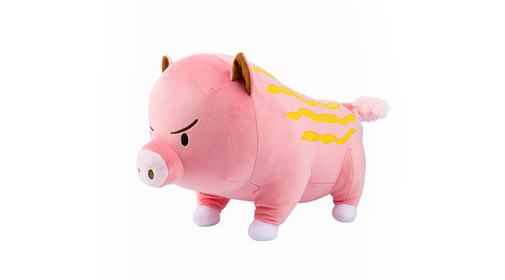 Stone Age Pinkpig Plush Toy (L)