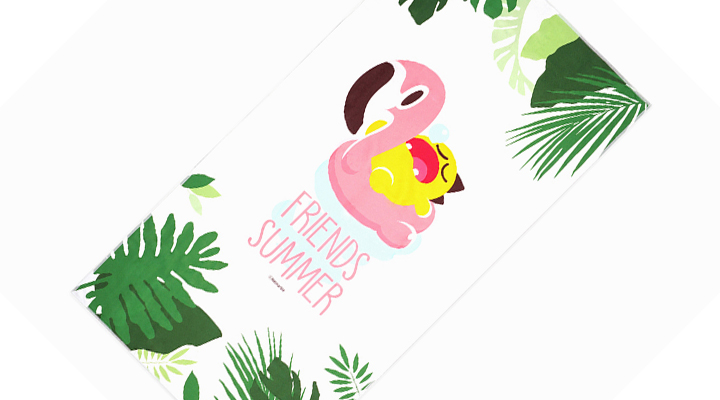 Netmarble Friends KeKe Beach Towel