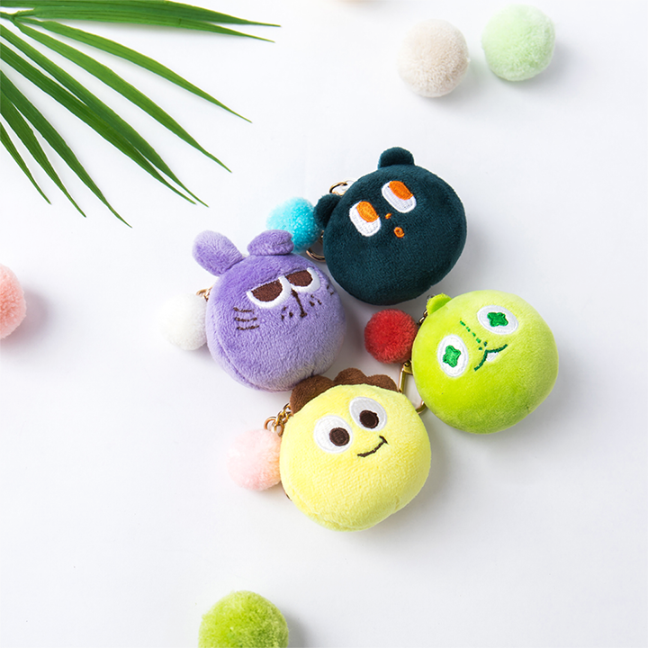 Netmarble Friends Plush Keyring