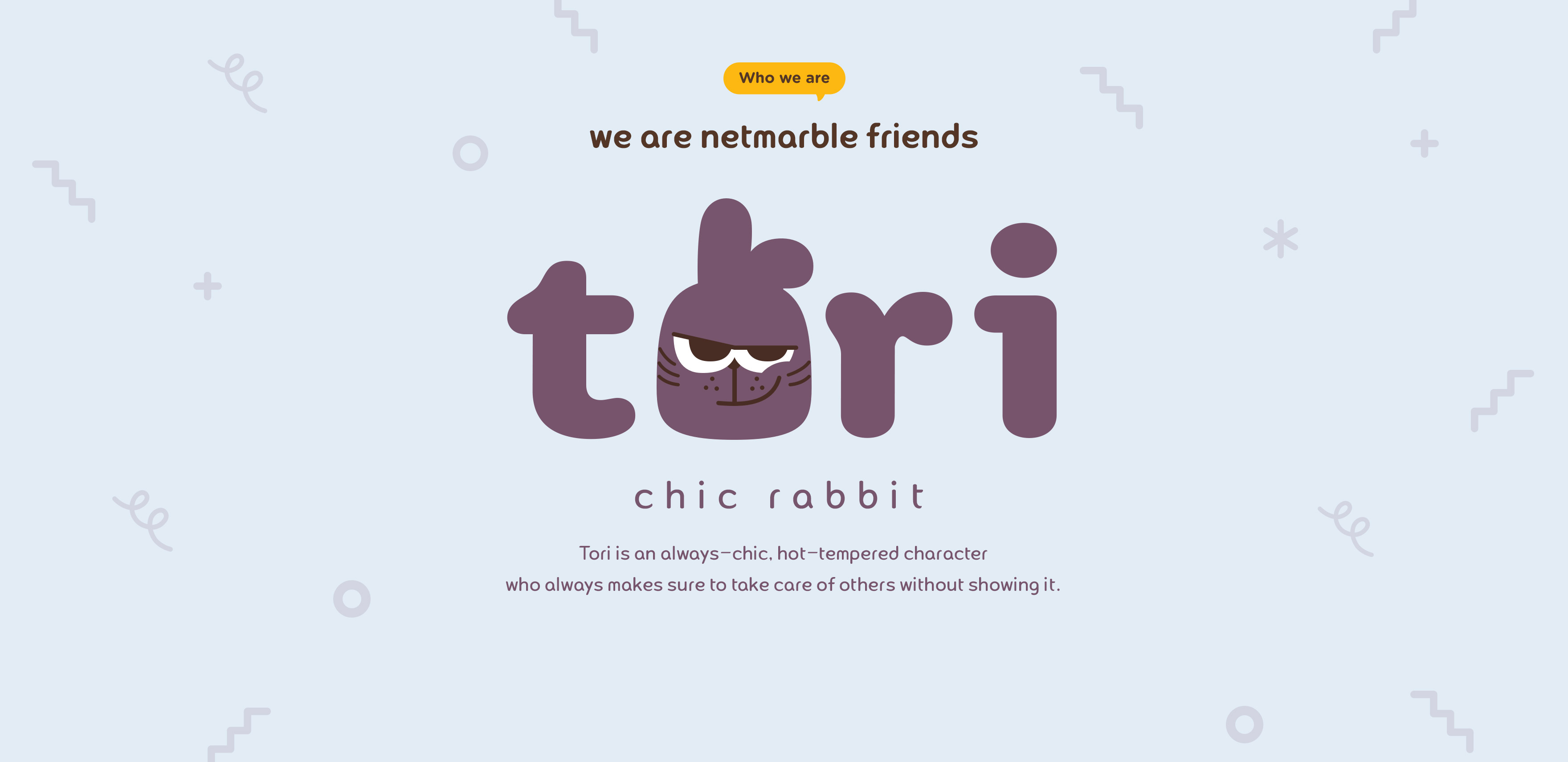 TORI. CHIC RABBIT.