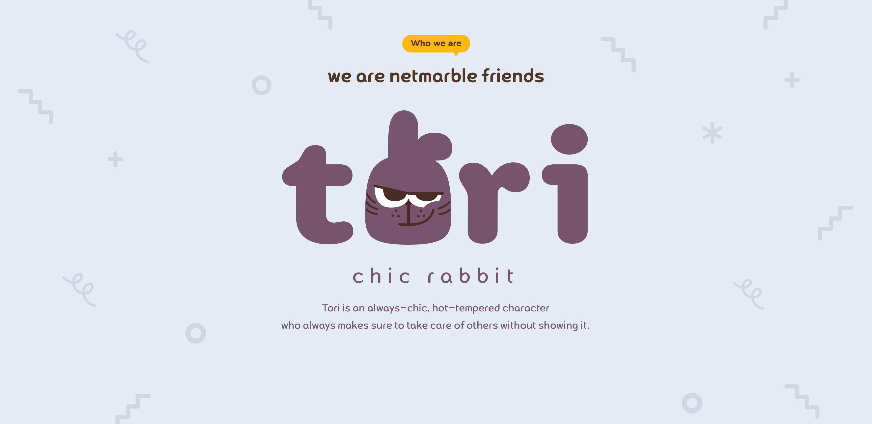 TORI. CHIC RABBIT.