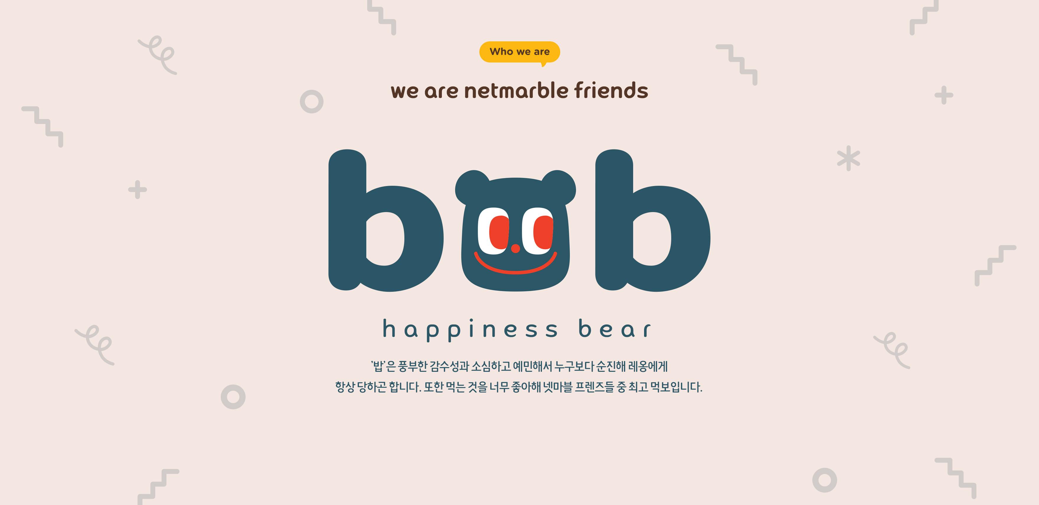 BOB. HAPPINESS BEAR.