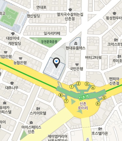 「Netmarble Store」の地図